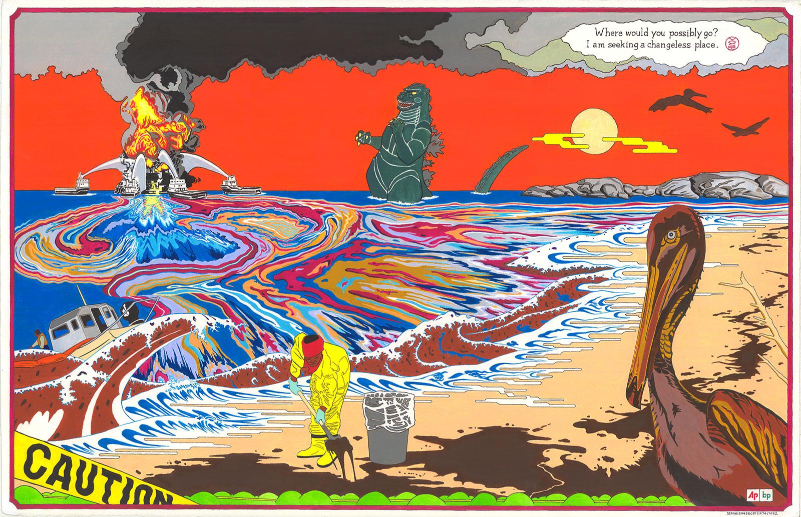 Jave Yoshimoto Art Works For Change
