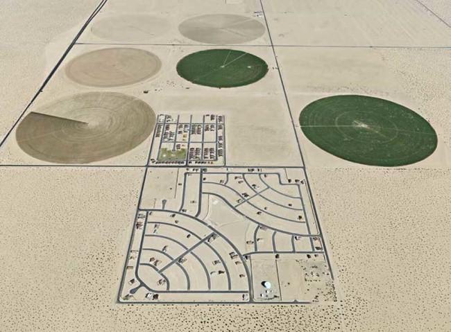 pivot irrigation circle patterns
