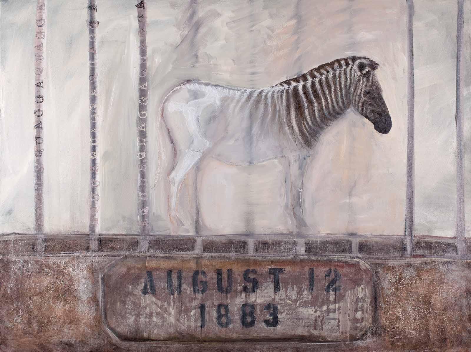 extinct quagga (zebra)