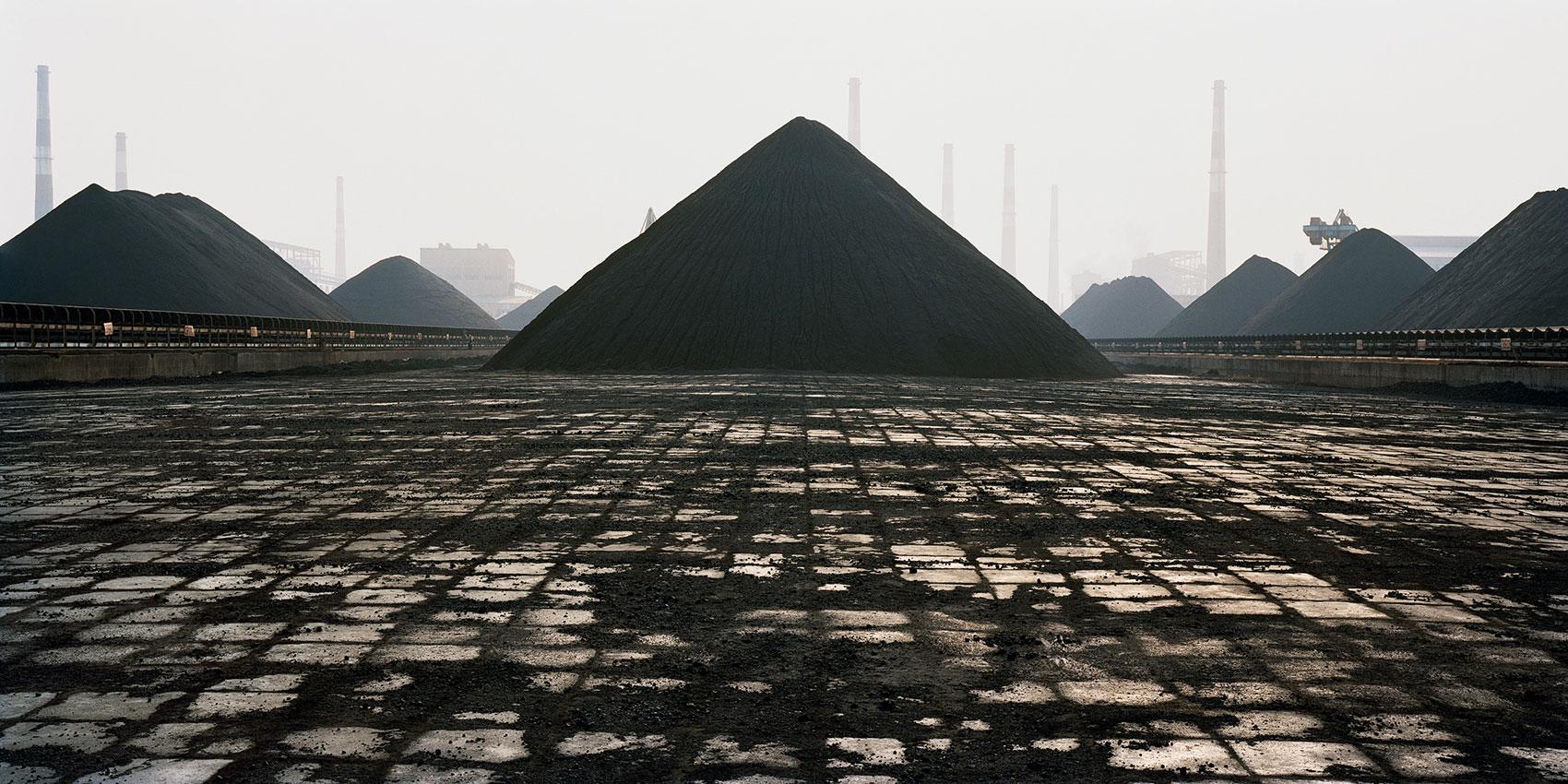 pyramids of coal