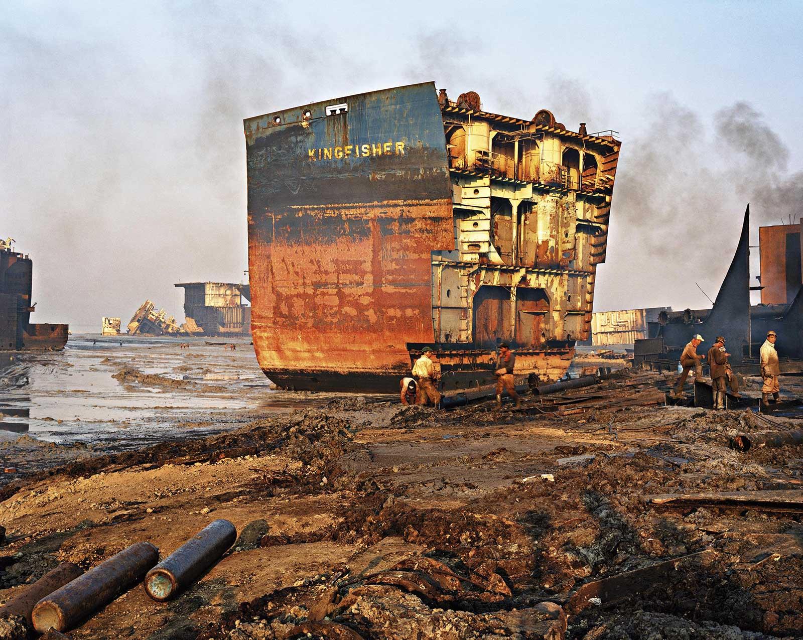 carcass of ship
