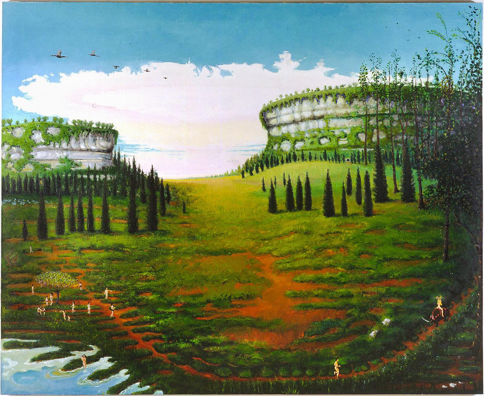 prehistoric pastoral landscape