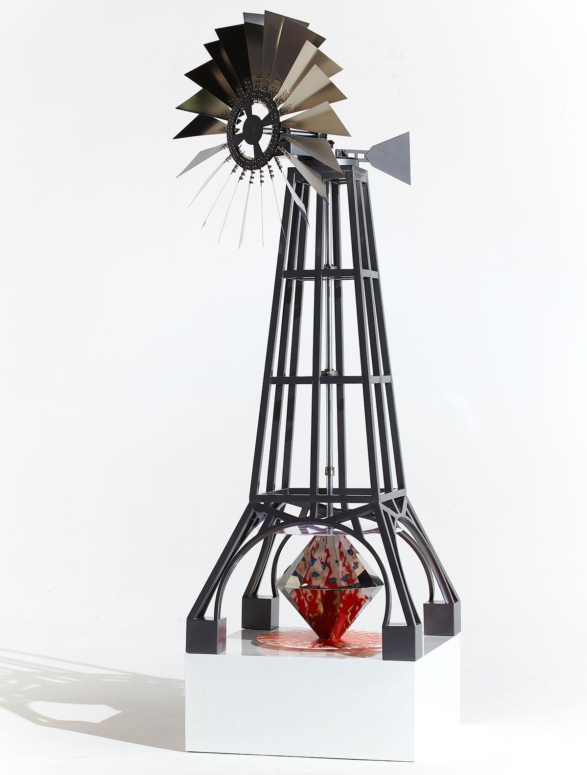 windmill sculpture